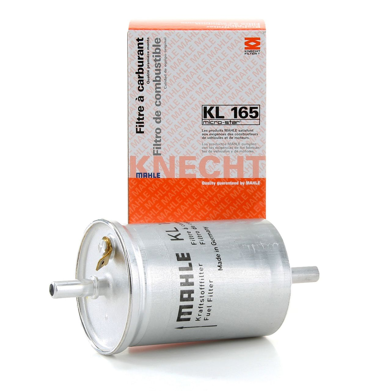 MAHLE Kraftstofffilter Dieselfilter KL165 Smart Cabrio City-Coupe ForTwo 0.8CDI