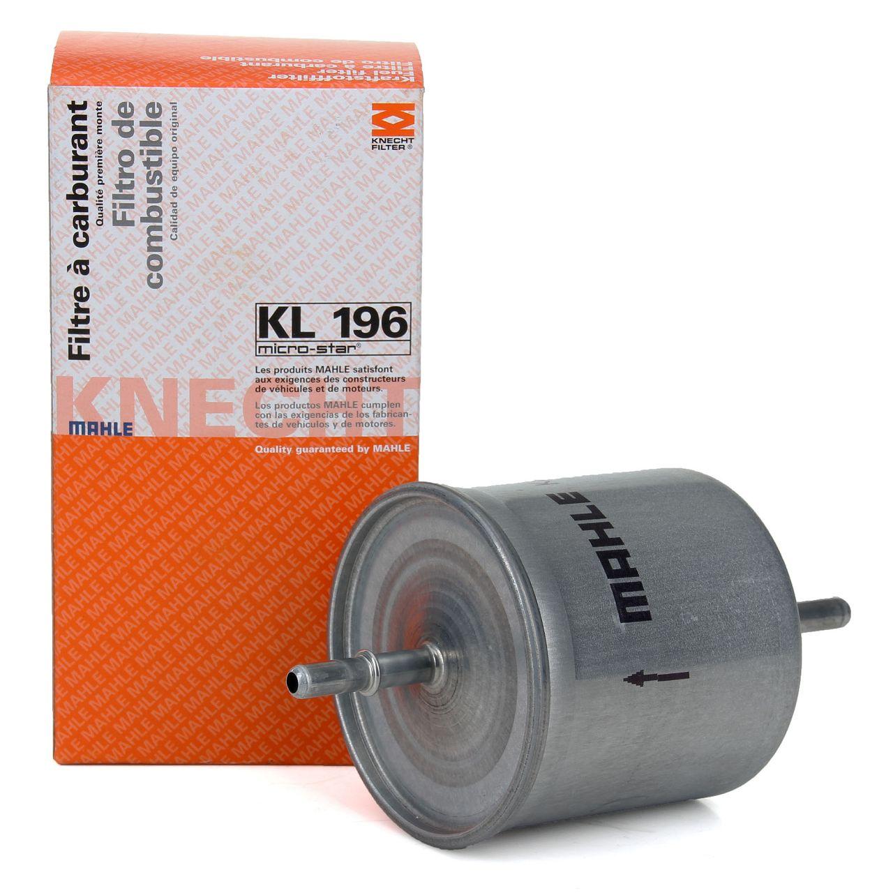 KNECHT / MAHLE Kraftstofffilter Benzinfilter KL196 für Volvo S40 S60 S80 V40 V70