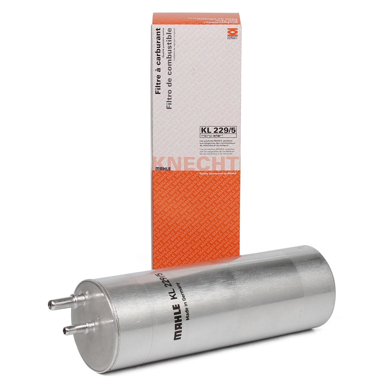 MAHLE Kraftstofffilter Dieselfilter für VW TRANSPORTER T5 2.5 TDI T6 2.0 TDI