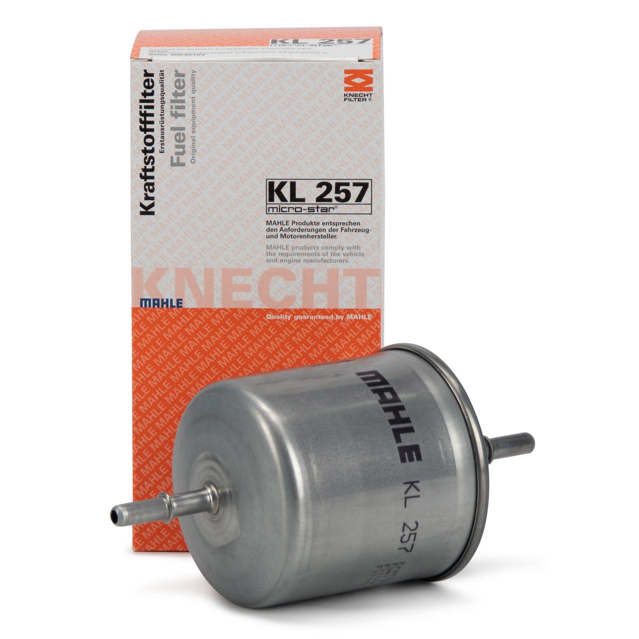 MAHLE / KNECHT KL257 Kraftstofffilter für VOLVO S60 1 2 S80 1 2 XC60 XC70 2 XC90 30636704
