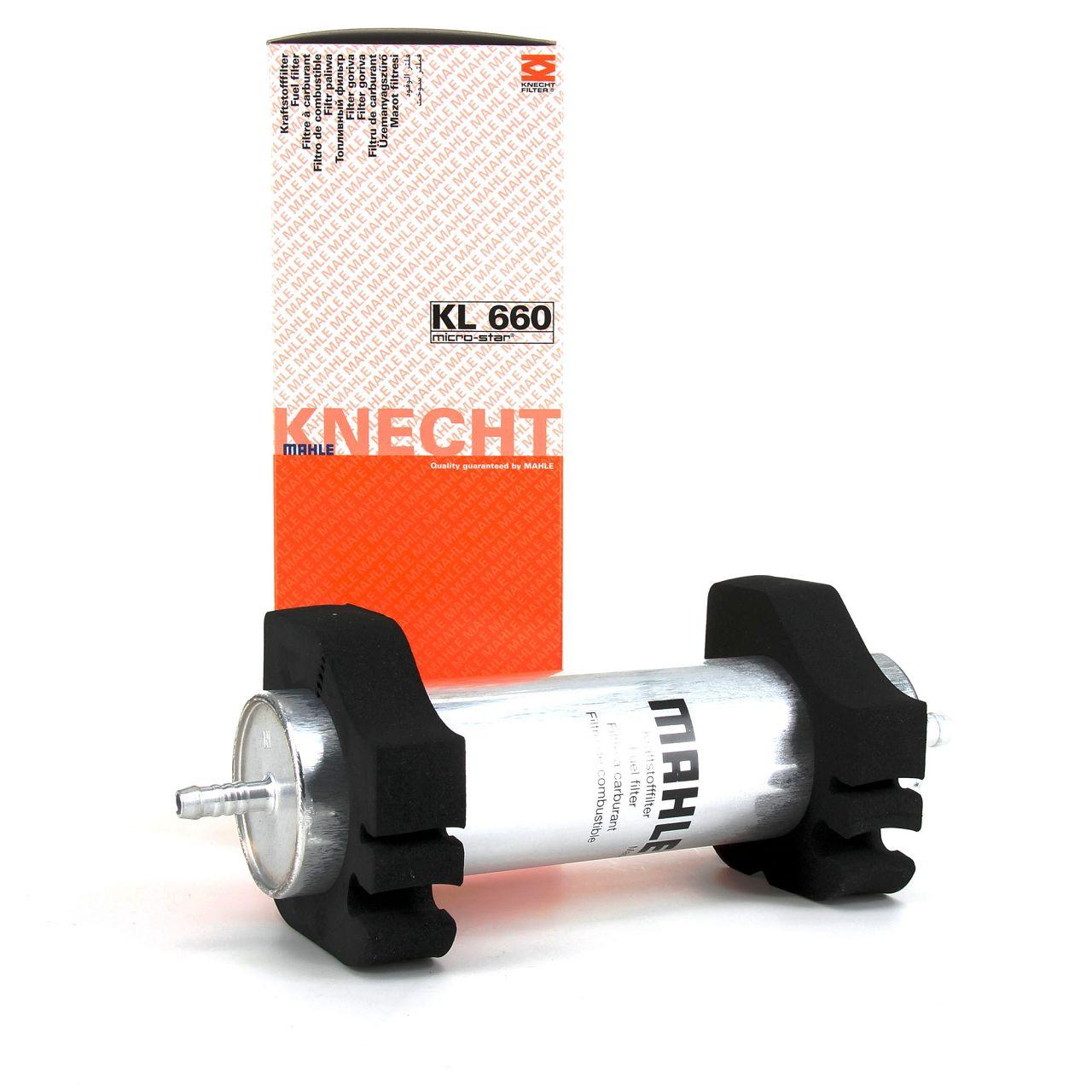 KNECHT / MAHLE Kraftstofffilter Dieselfilter AUDI Q5 8RB 2.0/3.0 TDI 8T0127401A