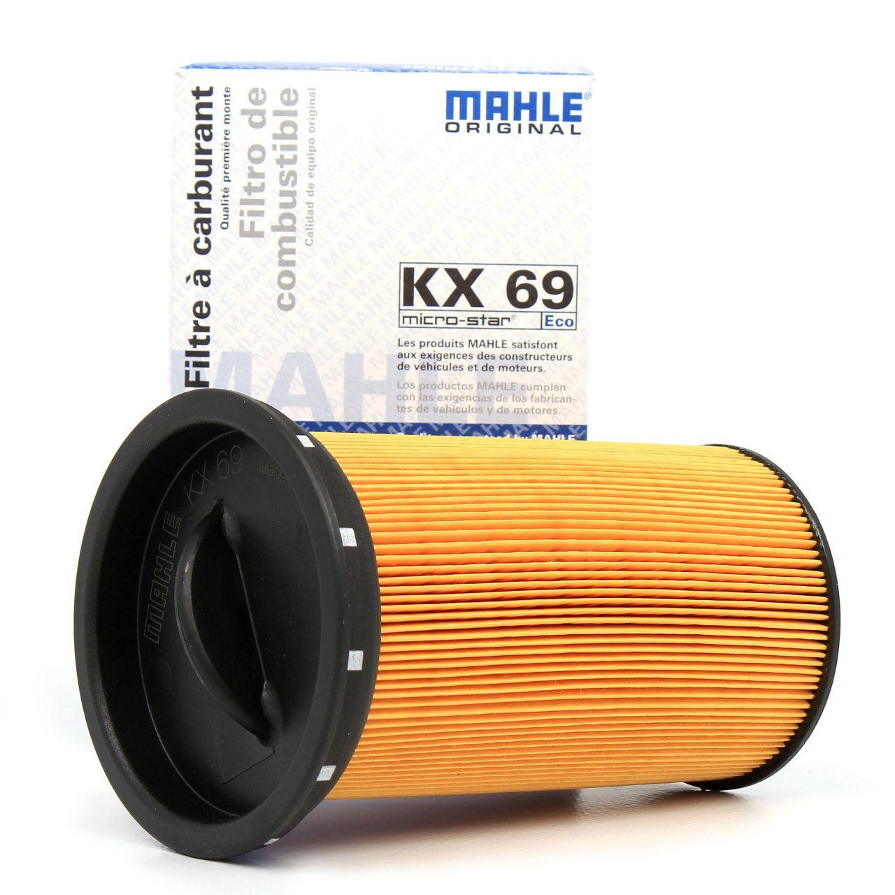 KNECHT / MAHLE Kraftstofffilter Dieselfilter KX69 für BMW 3er E46 318d 320d