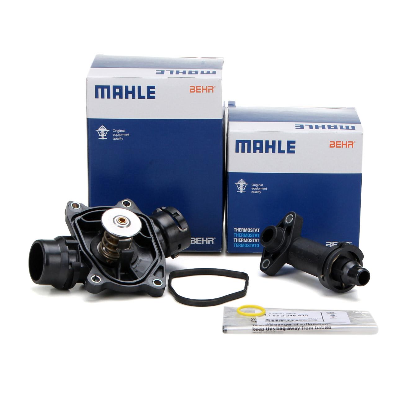 BEHR MAHLE Thermostat + AGR Thermostat BMW E46 330d E39 525d 530d E38 730d M57