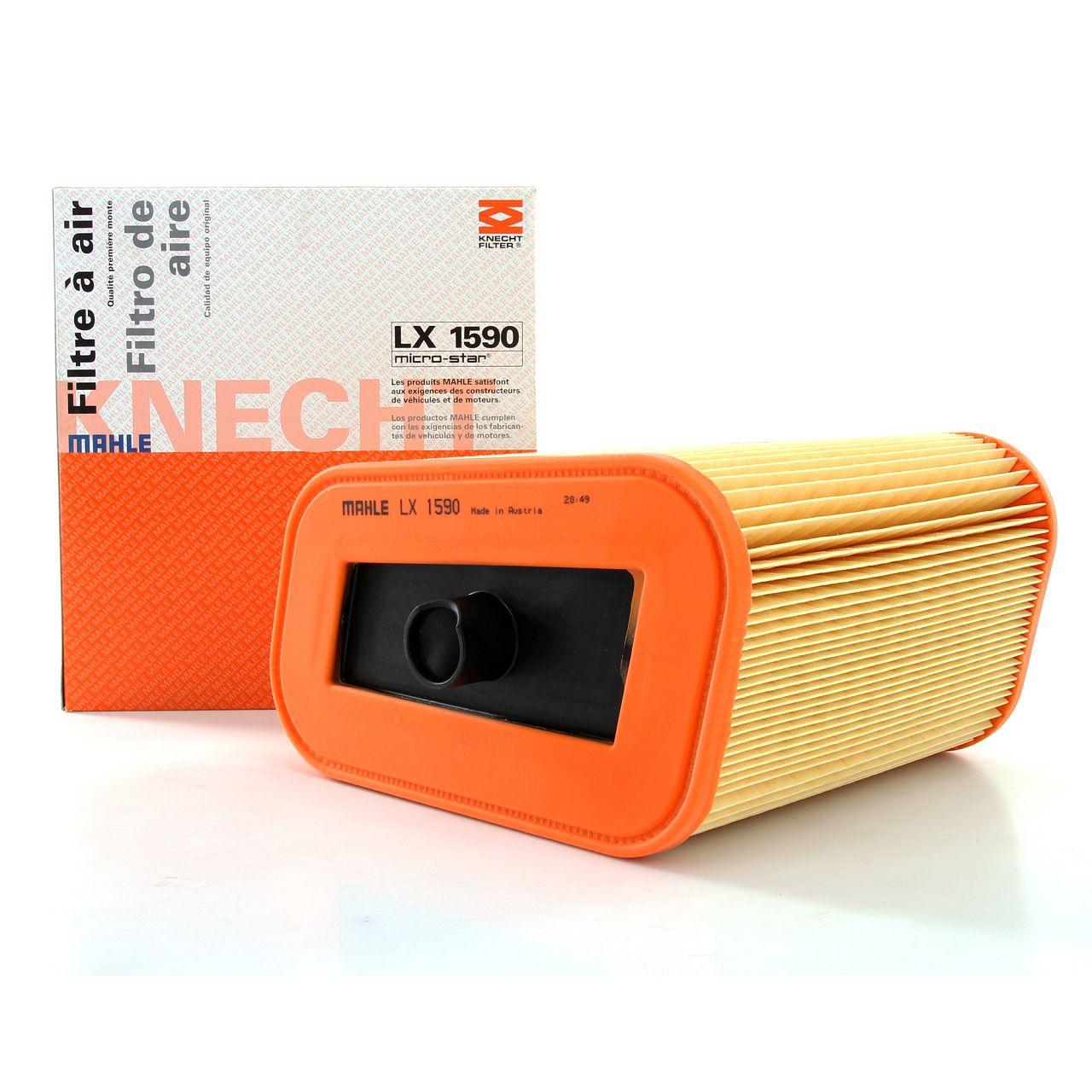 MAHLE Luftfilter Motorluftfilter LX1590 für BMW 3er E90 E93 E92 M3/GTS 420/450PS
