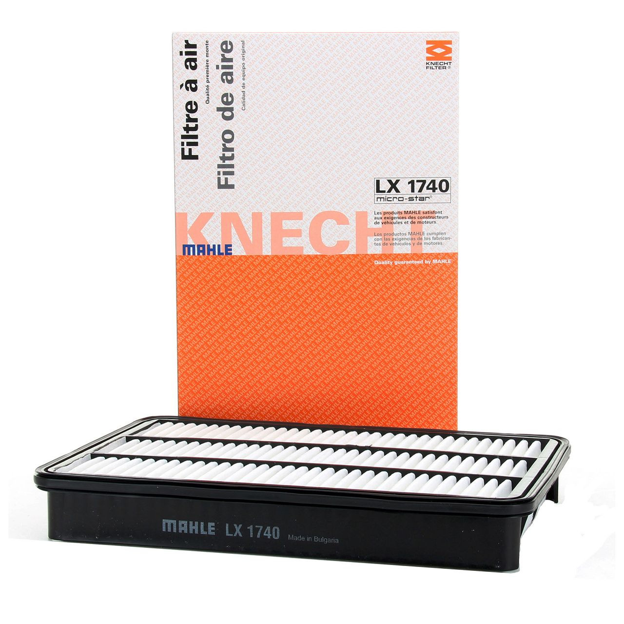 KNECHT / MAHLE Luftfilter Motorluftfilter für OPEL FRONTERA B MONTEREY A B