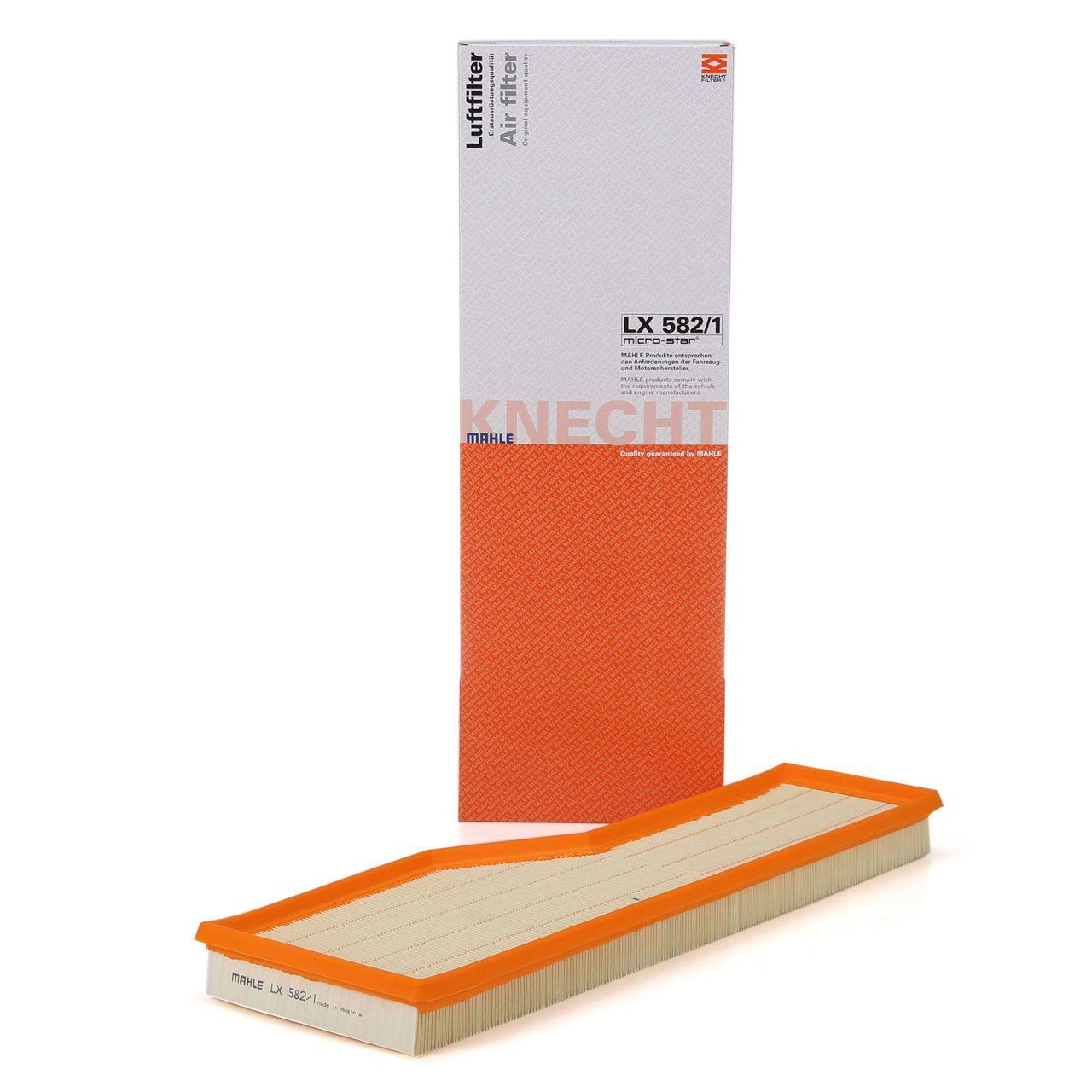 KNECHT / MAHLE LX582/1 Luftfilter für PORSCHE 911 (996 997) 3.4/3.6/3.8 Carrera