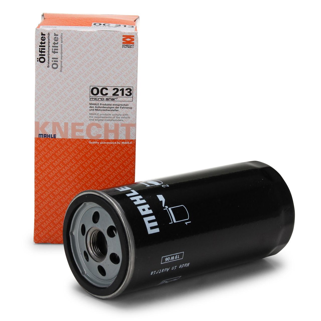 KNECHT / MAHLE OC213 Ölfilter PORSCHE 911 (993) 3.6/3.8 Carrera + 3.6 Turbo/GT2