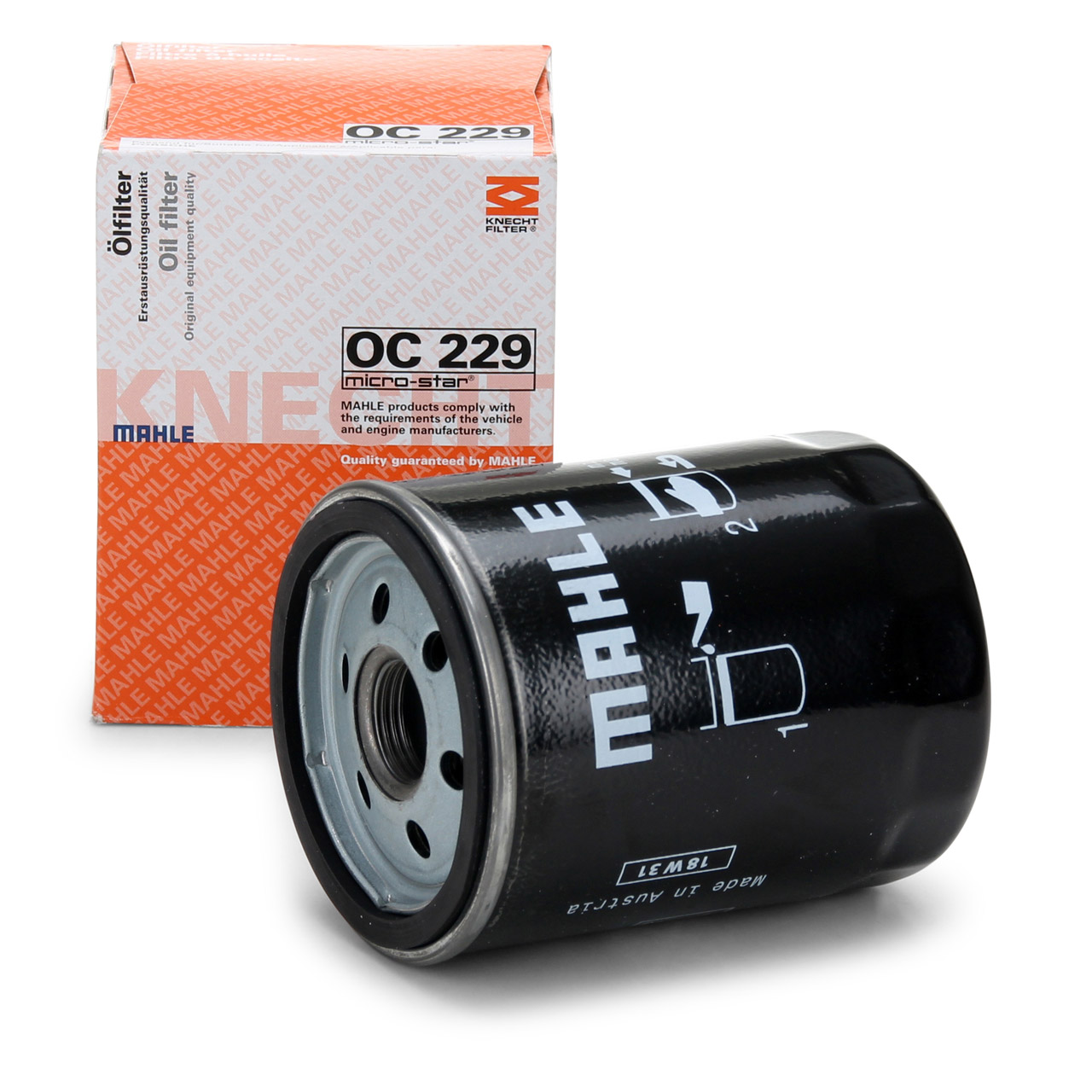 KNECHT / MAHLE OC229 Ölfilter Motorölfilter PORSCHE 911 (993) 99310720303