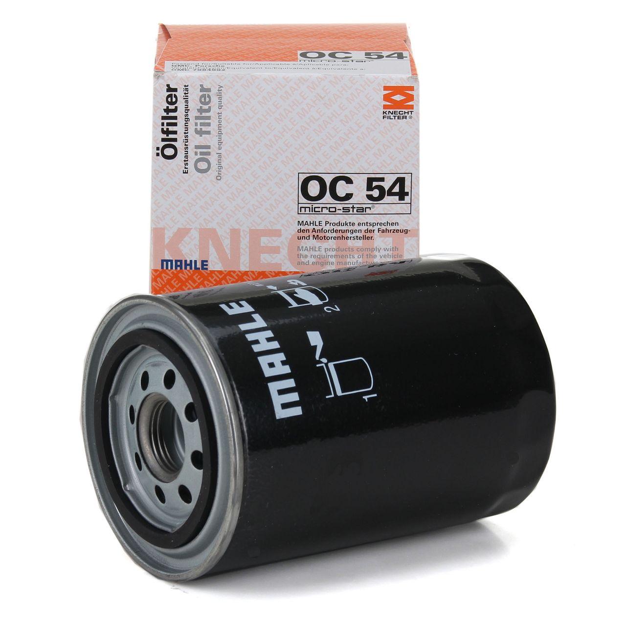 KNECHT / MAHLE OC54 Ölfilter für BMW M1 E26 3.5 + PORSCHE 911 + 959 + 911 (964)