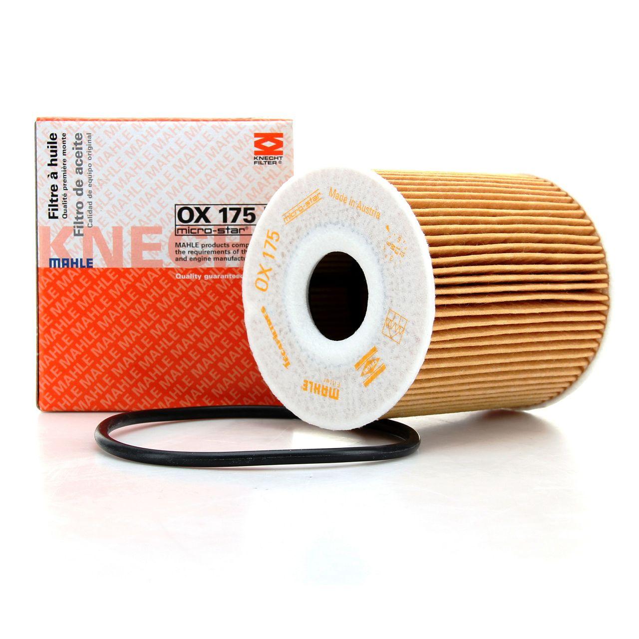 KNECHT / MAHLE Ölfilter Motorölfilter OX175D für MINI R50 R53 R52 11427512446