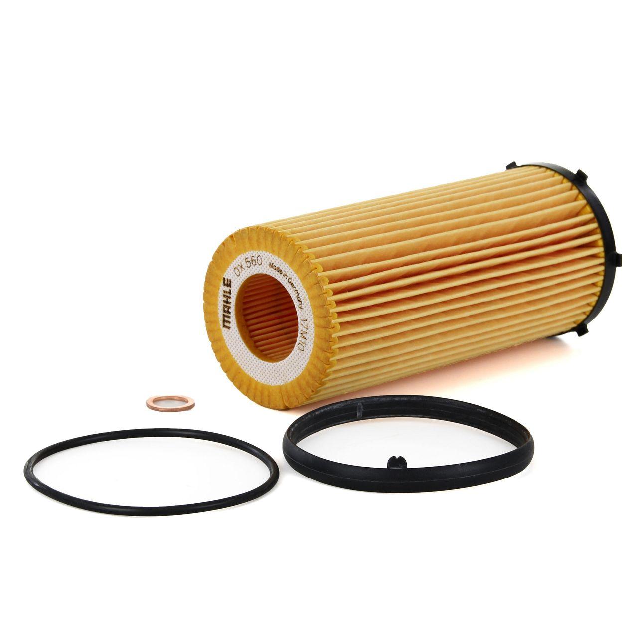 KNECHT / MAHLE Filterset BMW 3er E90 E91 E92 E93 325d 330d 204/245 PS N57
