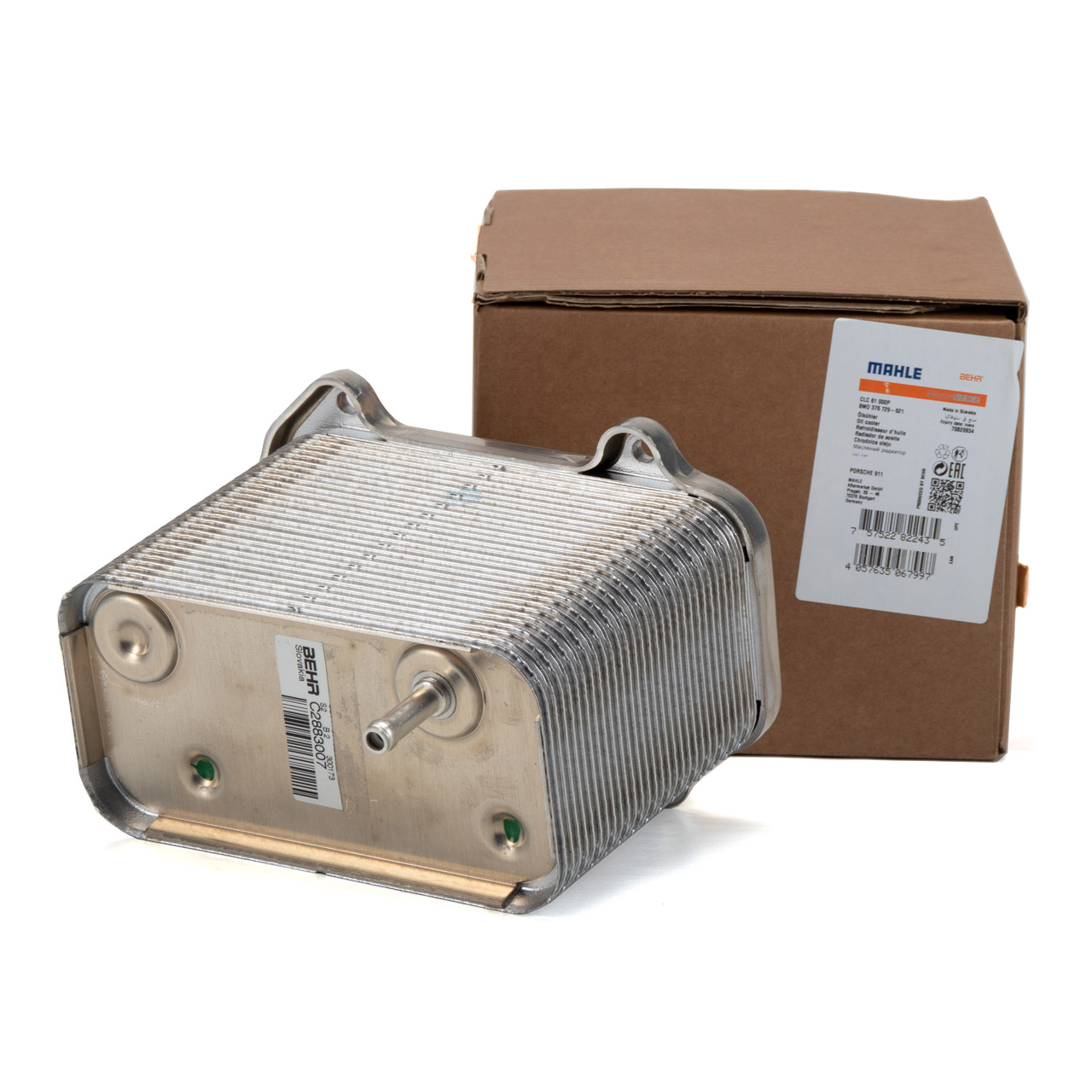 BEHR Ölkühler Motorölkühler PORSCHE 911 997 3.8 Carrera S 355 PS 99710702502