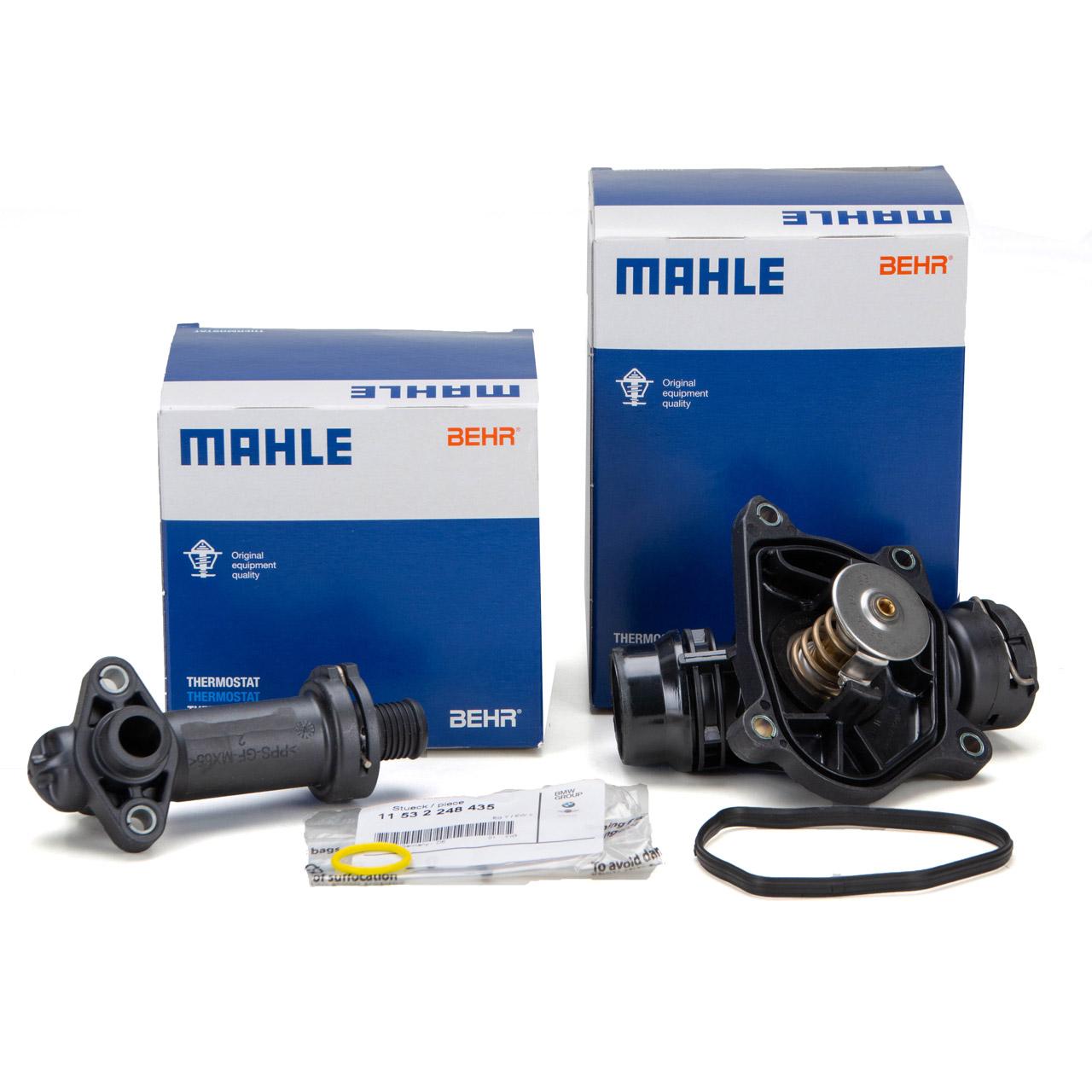 BEHR / MAHLE Thermostat + AGR Thermostat + Dichtung BMW E46 E90-E92 M47 M57