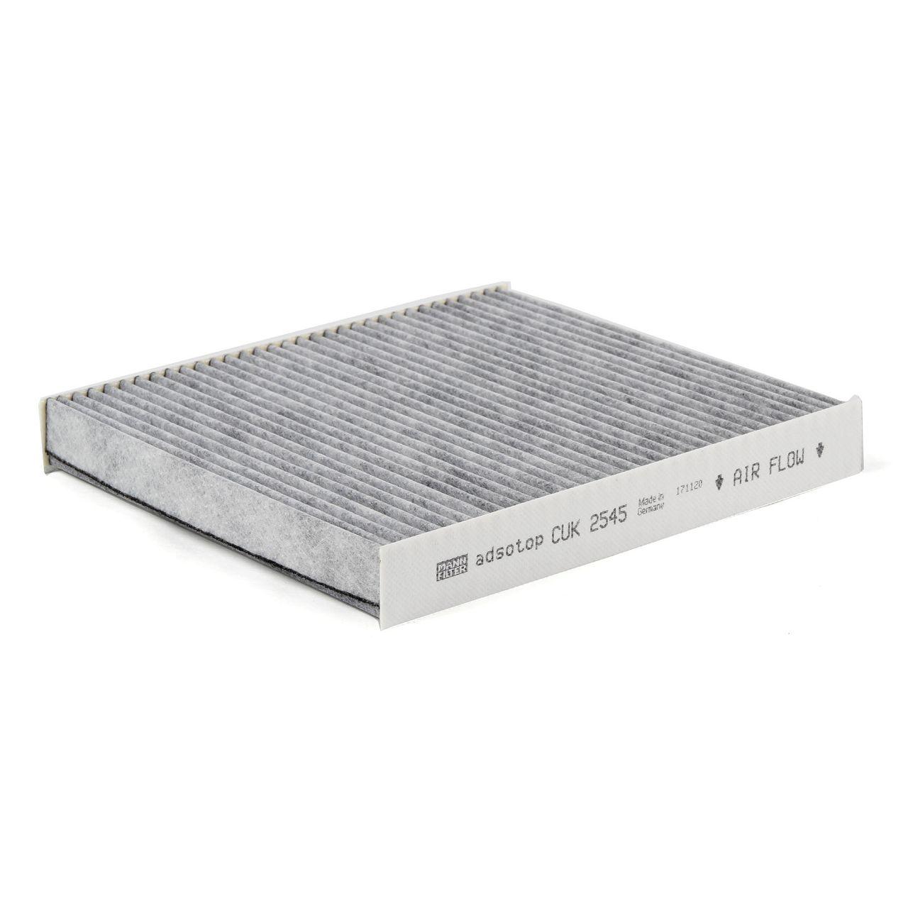 MANN Filterpaket Filterset für SEAT IBIZA IV (6L1) 1.6 101 PS 02.2003-11.2009