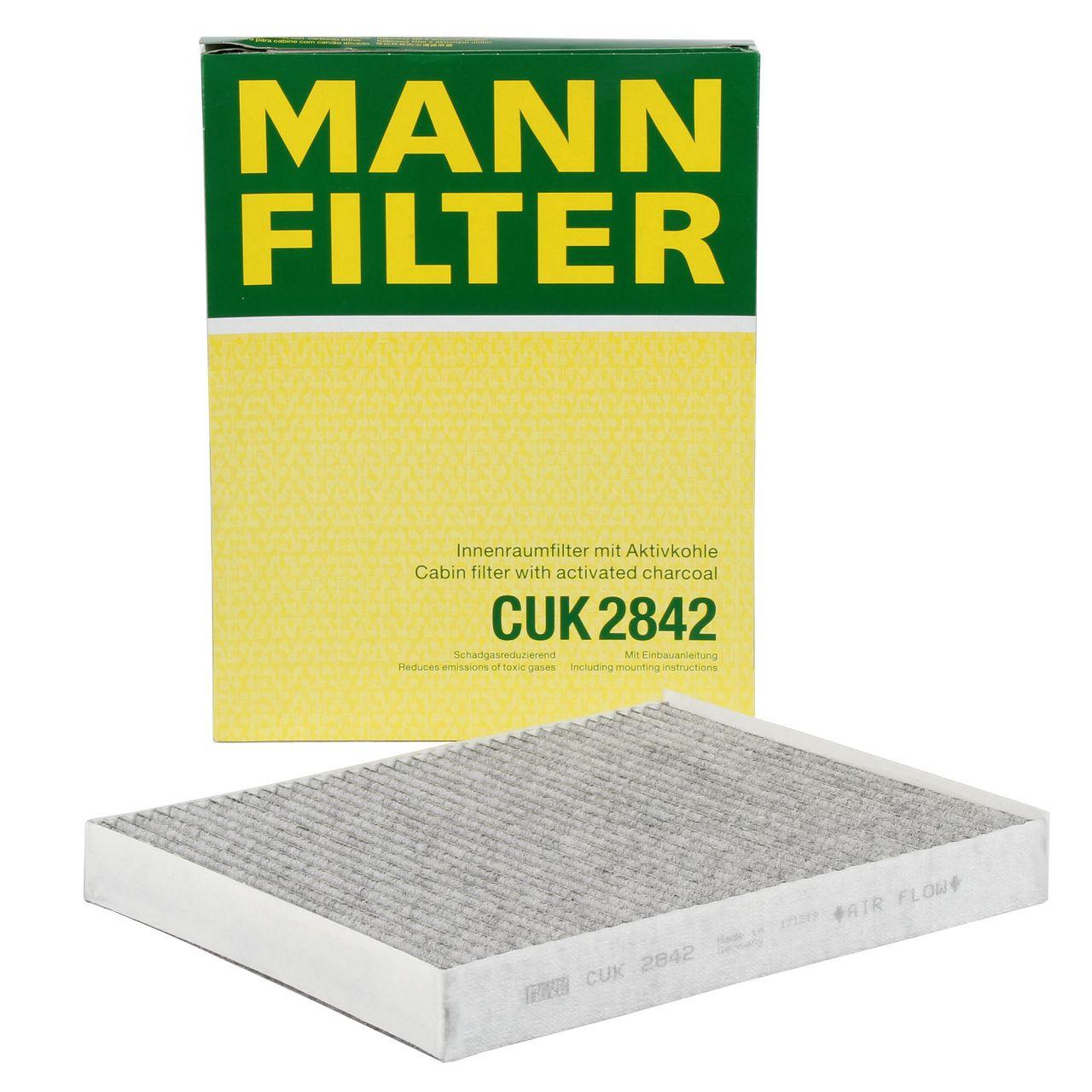 MANN Innenraumfilter Aktivkohlefilter für AUDI Q7 PORSCHE CAYENNE VW TOUAREG