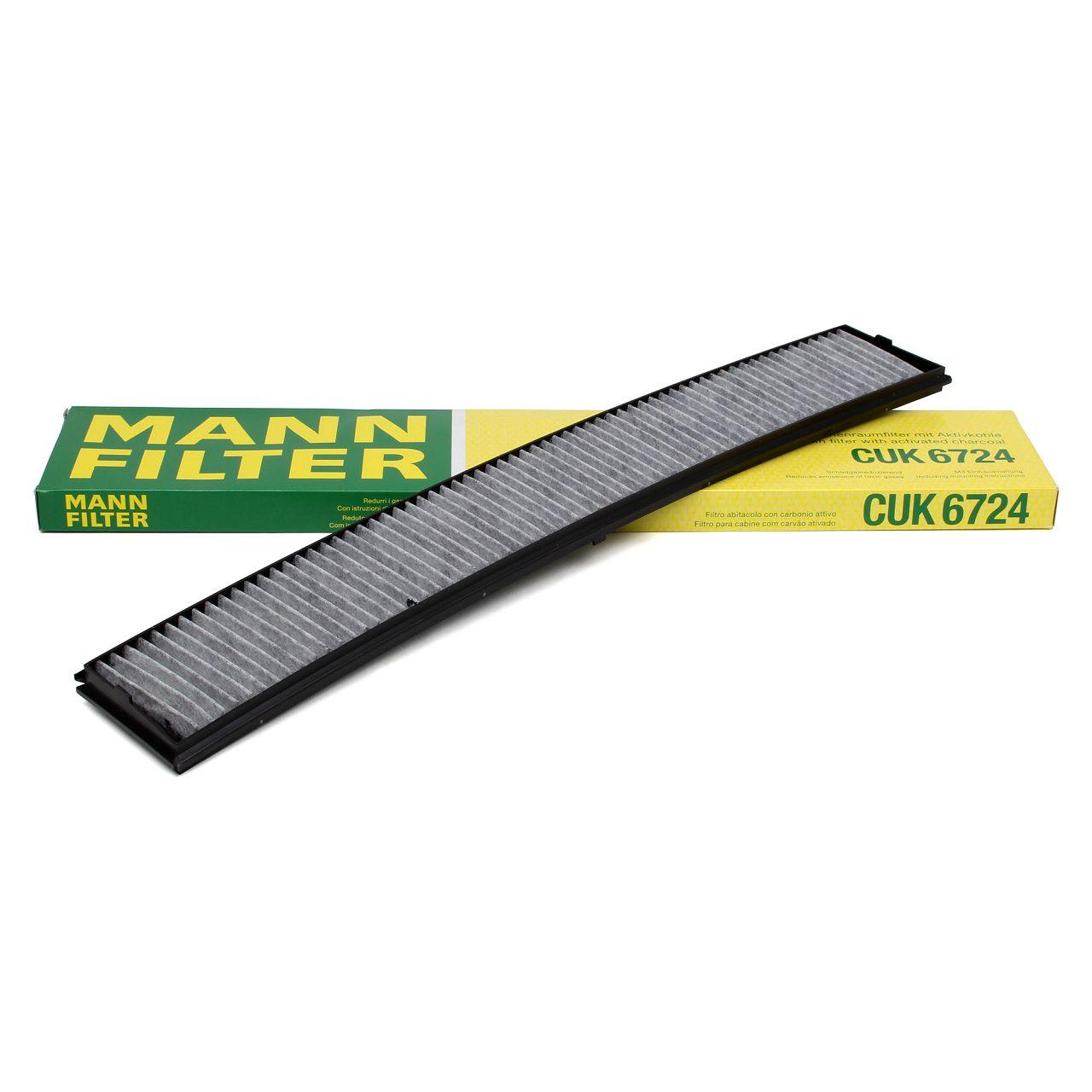 MANN Innenraumfilter Pollen Aktivkohlefilter CUK6724 für BMW 3er E46 X3 E83