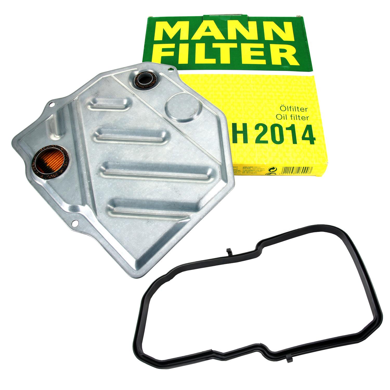 MANN Hydraulikfilter Automatikgetriebe Getriebeölfilter MERCEDES 4-Gang W772.4