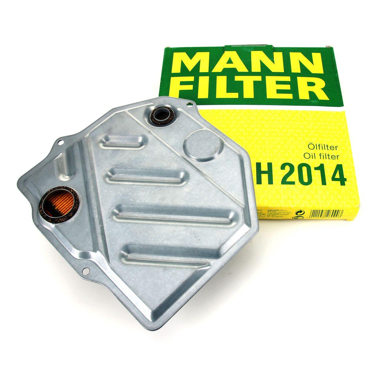 MANN Hydraulikfilter Automatikgetriebefilter Getriebefilter 4-Gang H2014
