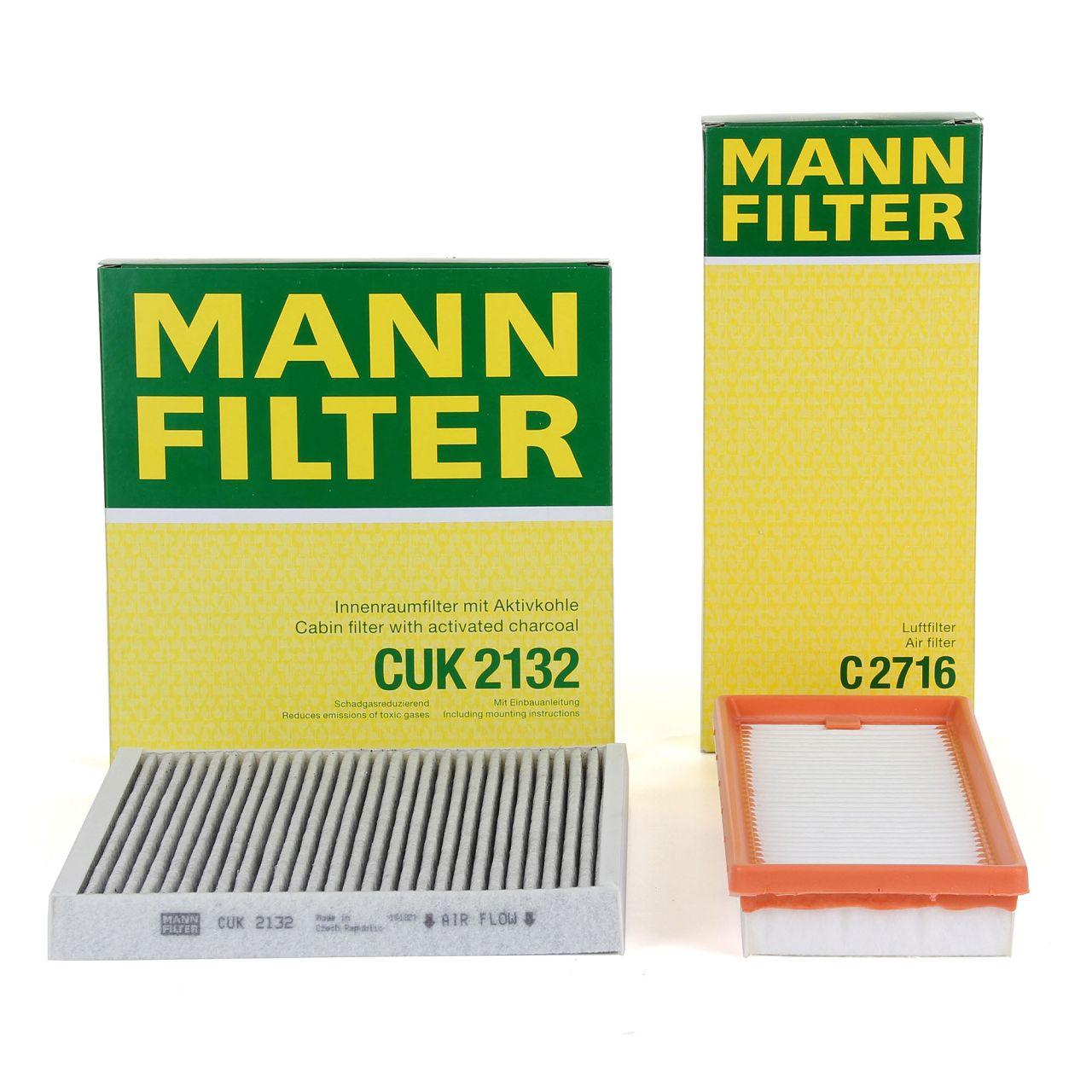 MANN Inspektionskit Filterpaket Filterset für SMART FORTWO (451) 1.0 0.8CDI