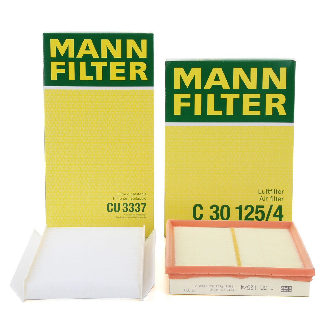 MANN Filterset für OPEL COMBO 1.4 1.6 1.7D CORSA C 1.0-1.8 1.7D TIGRA B 1.4 1.8