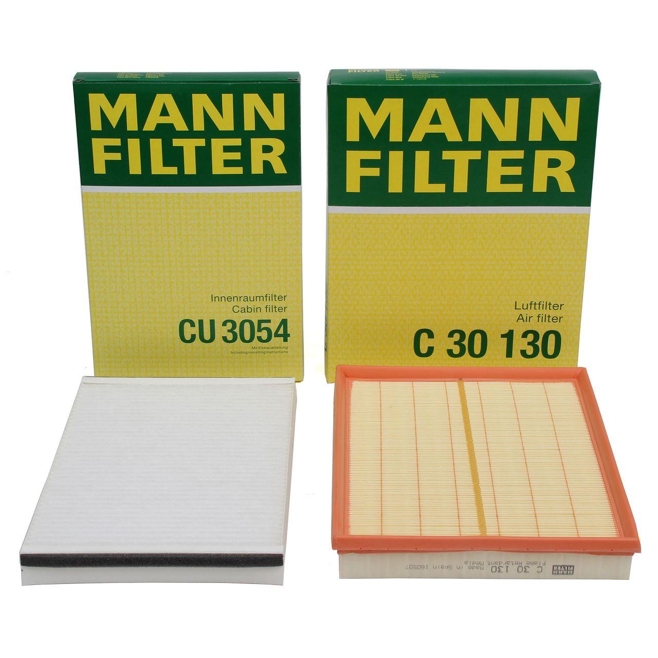 MANN Filterpaket Filterset für OPEL ASTRA G H ZAFIRA A 1.2-2.0 1.7/2.0/2.2DTI