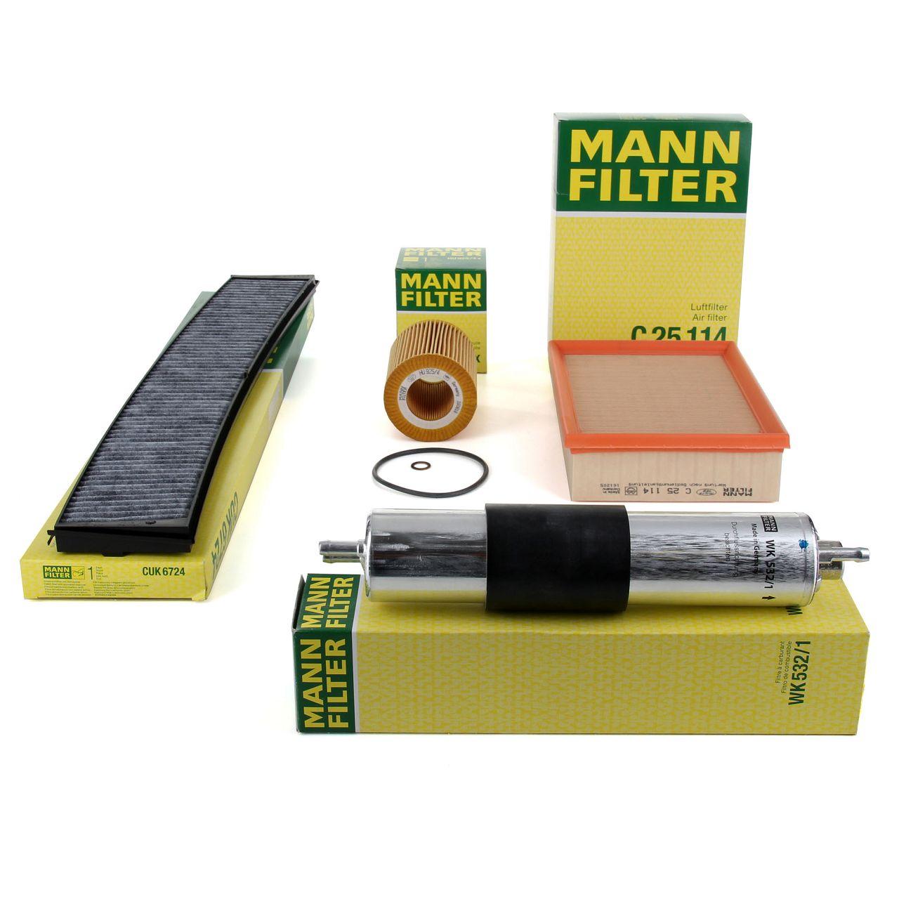 MANN Inspektionskit Filterpaket für BMW 3er E46 320i 325i 330i 170/192/231 PS