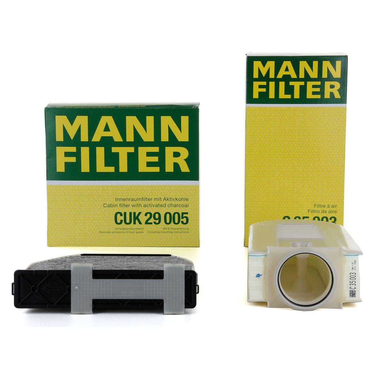 MANN Inspektionskit für MERCEDES W204 C218 W212 X204 180-250CDI 220/300BlueTEC