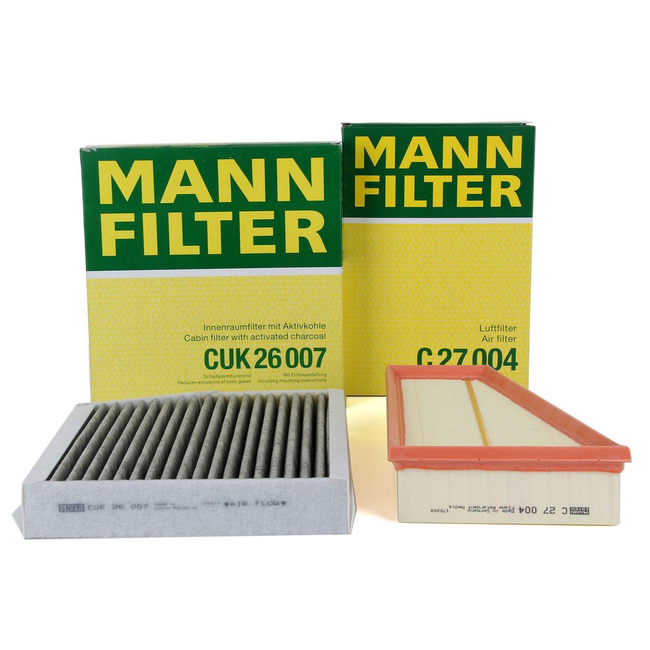 MANN Filterset für MERCEDES W176 W246 W242 C117 X117 X156 160-250 102-218 PS