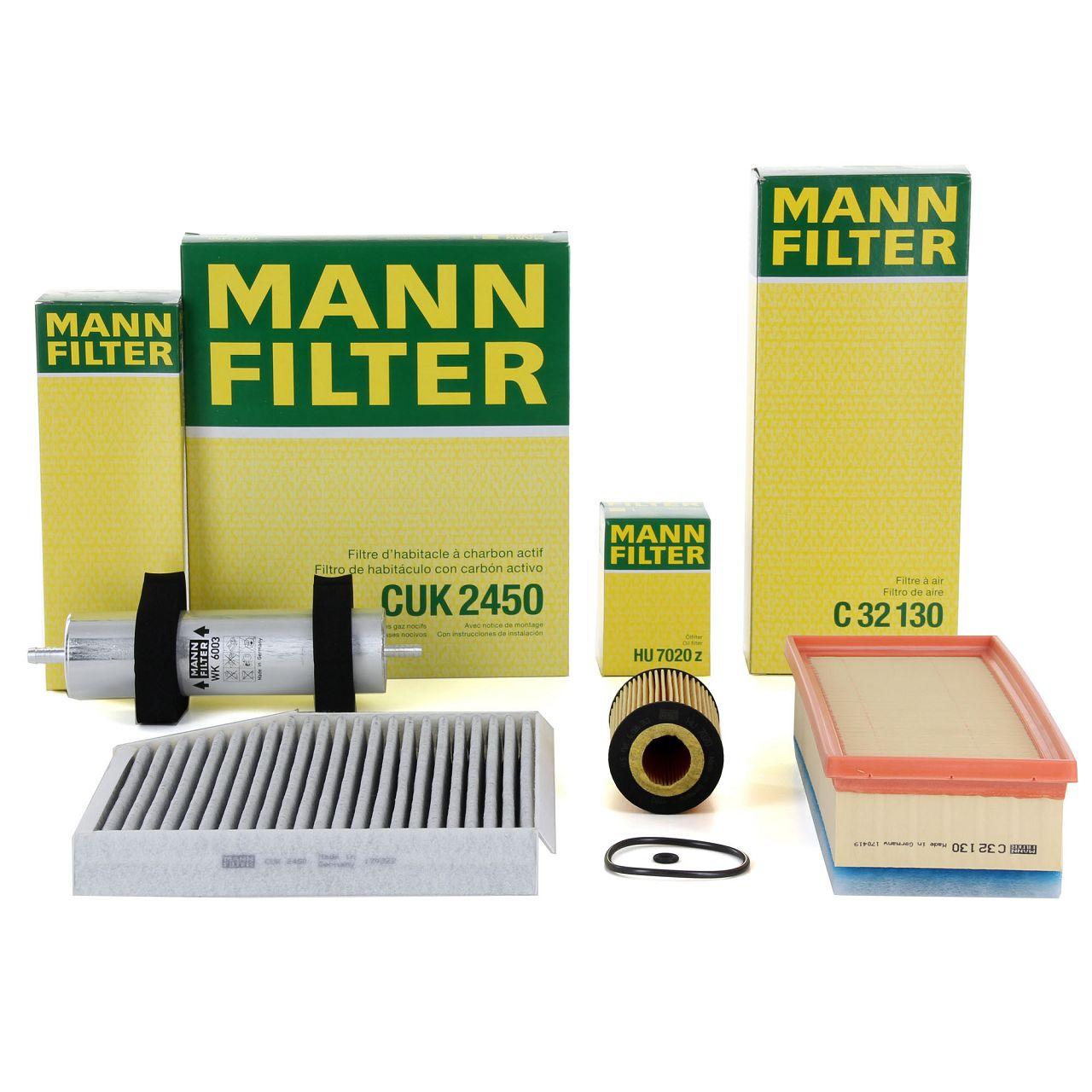 MANN Inspektionskit für AUDI A4 (8K B8) A5 (8T3) Q5 (8R) 2.0 TDI 136/150/163 PS