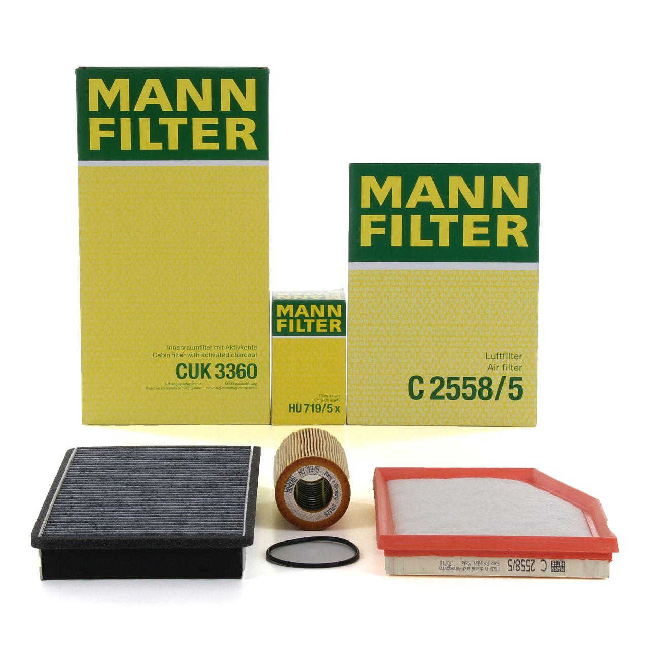 MANN Inspektionsset für PORSCHE BOXSTER (986) 2.5 + 2.7 + S 3.2 204-266 PS