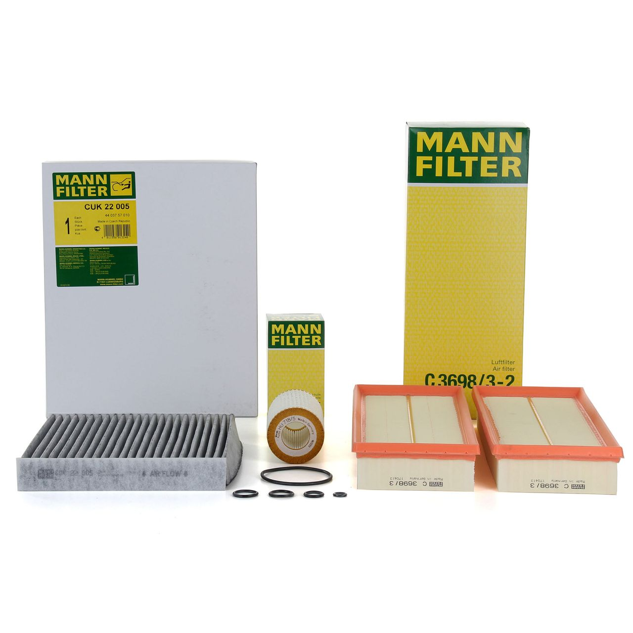 MANN Inspektionskit für MERCEDES W204 C230-350 W212 E300-500 X204 280-350