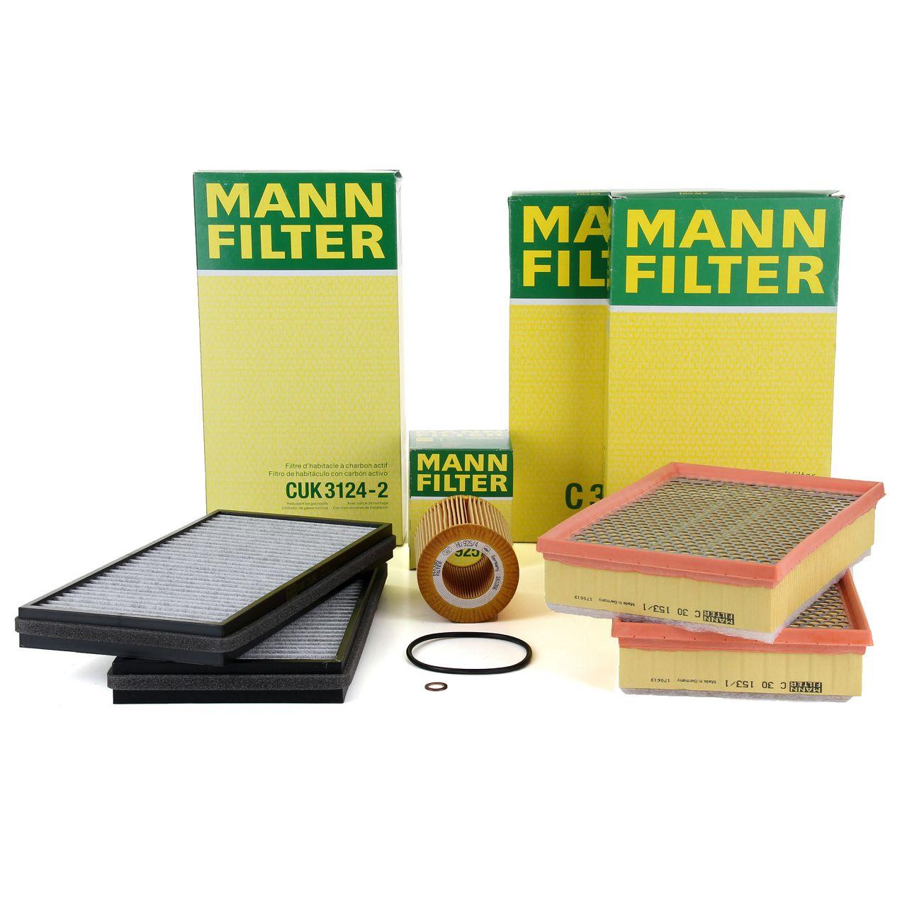 MANN Inspektionskit Filterpaket Filterset für BMW 7er E65 E66 E67 740d 258 PS
