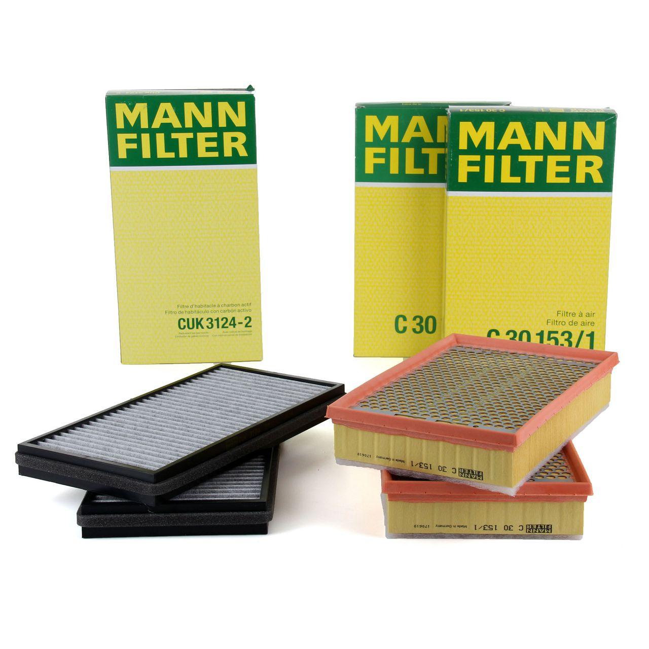 MANN Inspektionskit Filterpaket für BMW 7er E65 E66 E67 750i 760i 740d 745d