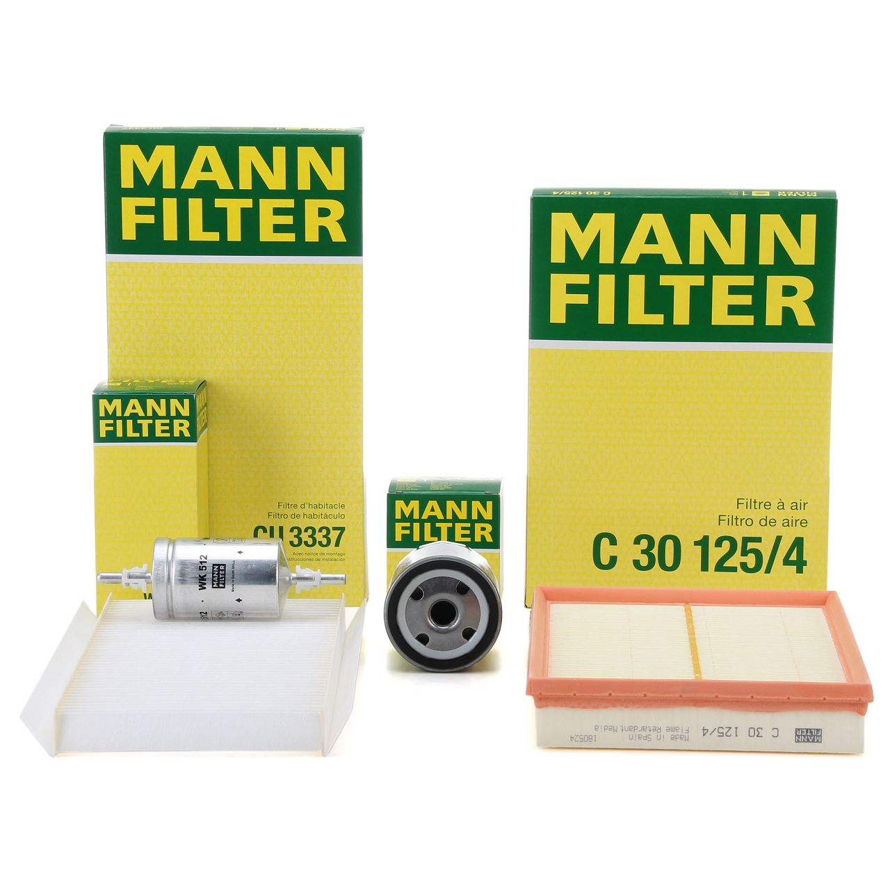 MANN Inspektionskit für OPEL COMBO 1.6 / 1.6 CNG CORSA C 1.4 1.8 TIGRA B 1.8
