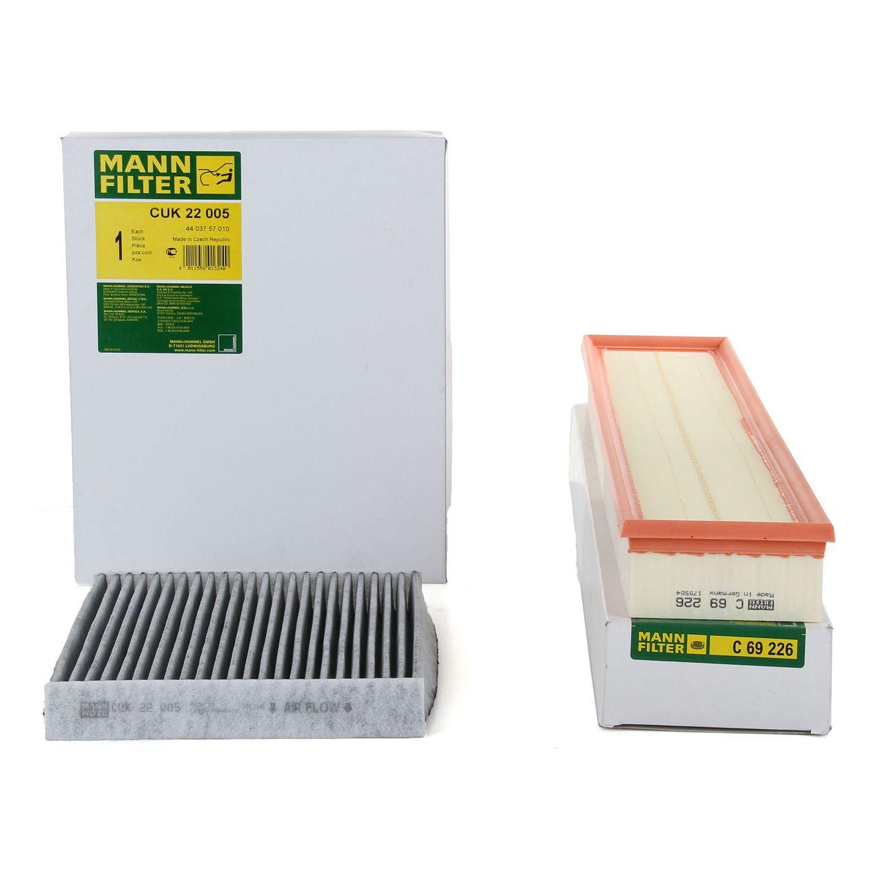 MANN Inspektionskit Filterpaket Filterset für PORSCHE PANAMERA (970)