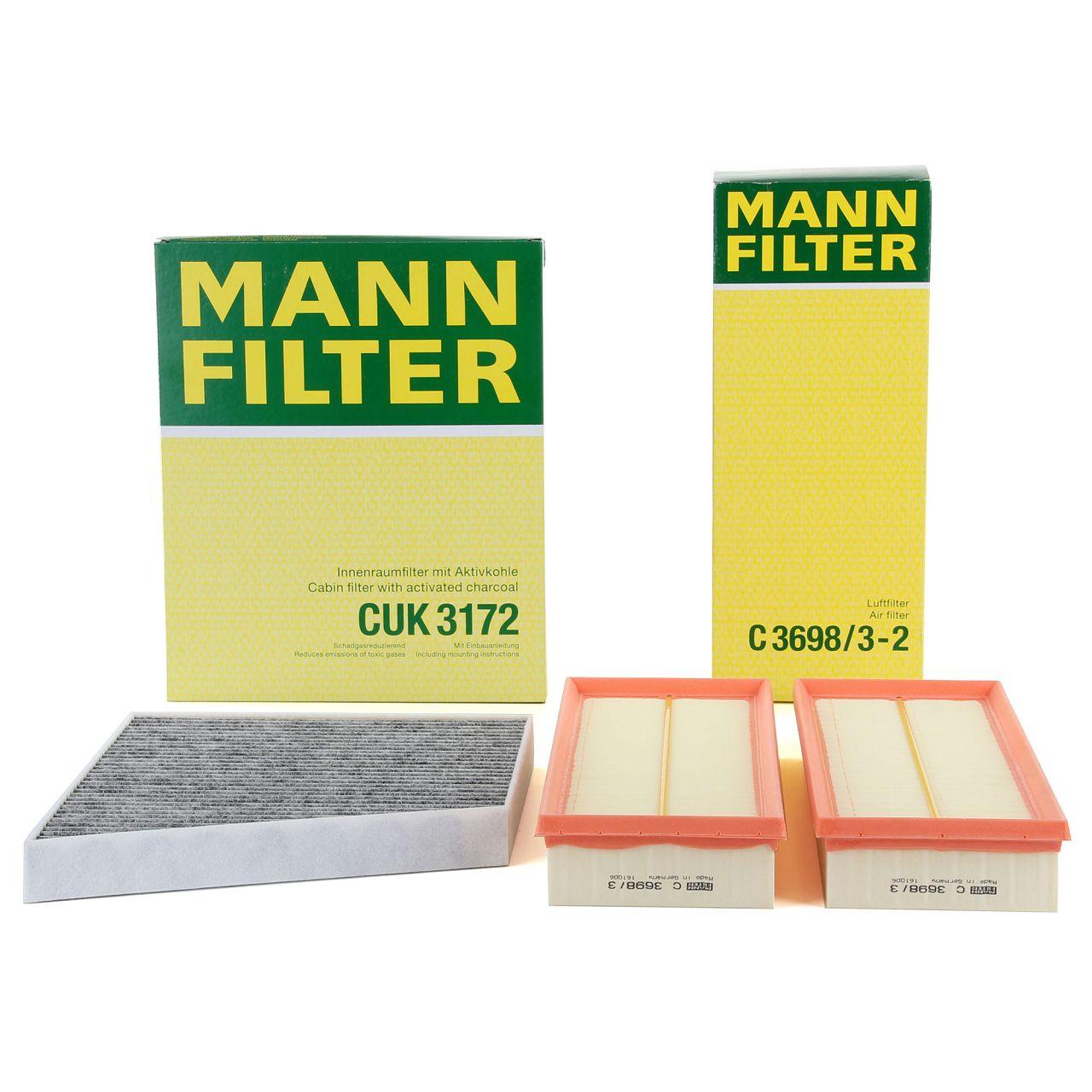 MANN Inspektionskit für MERCEDES CLS C219 CLS280-500 E-KLASSE W211 S211 E230-350