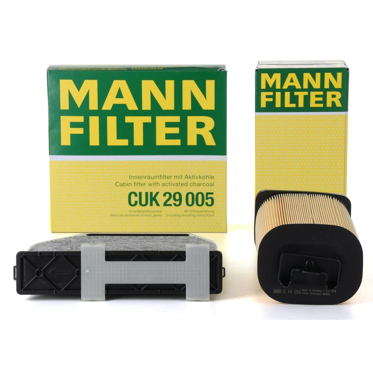 MANN Inspektionskit für MERCEDES W204 C180CGI C180 S212 E200 E250 X204 200 250