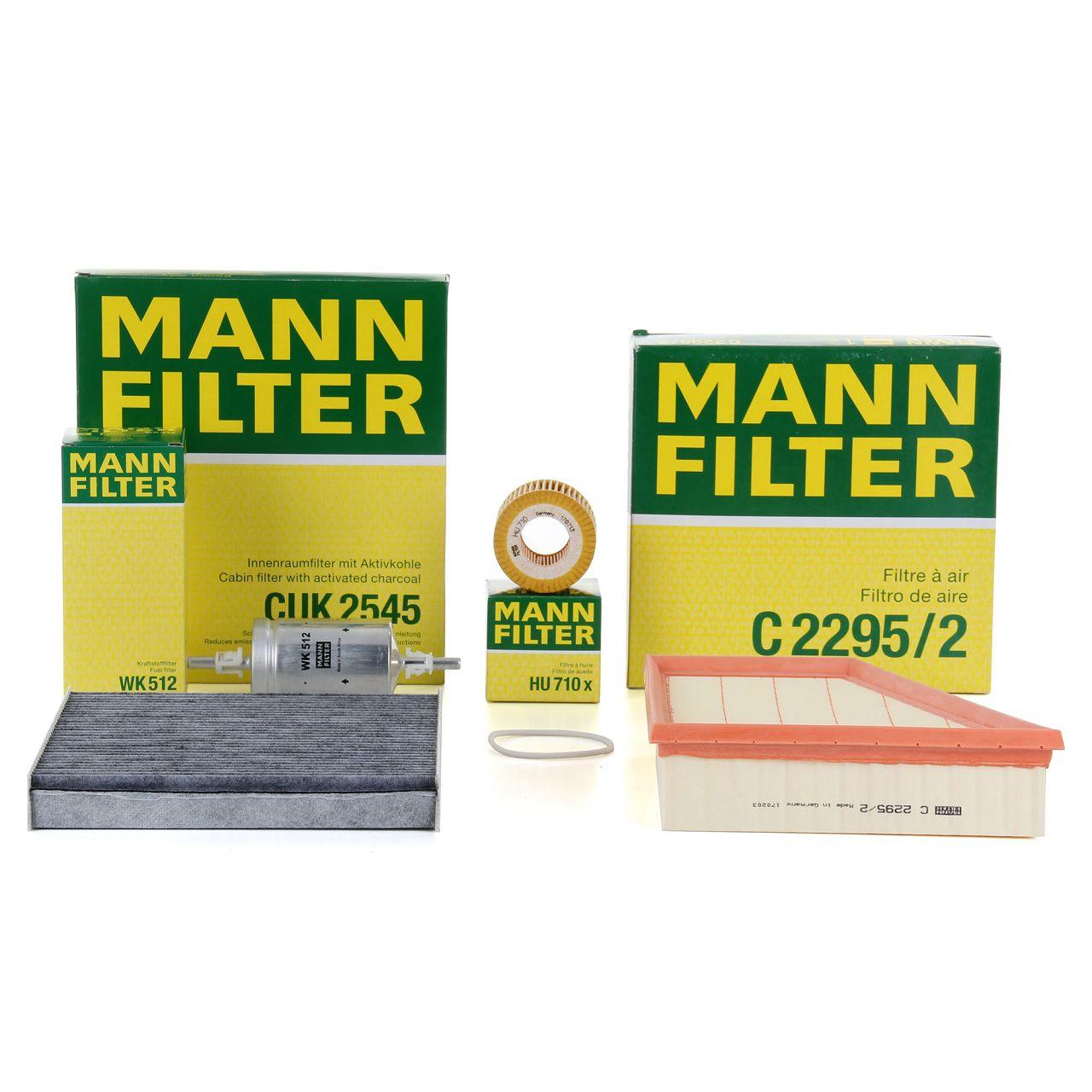 MANN Filterpaket Filterset für SKODA FABIA I VW FOX POLO (9N_) 1.2 54/55/60PS