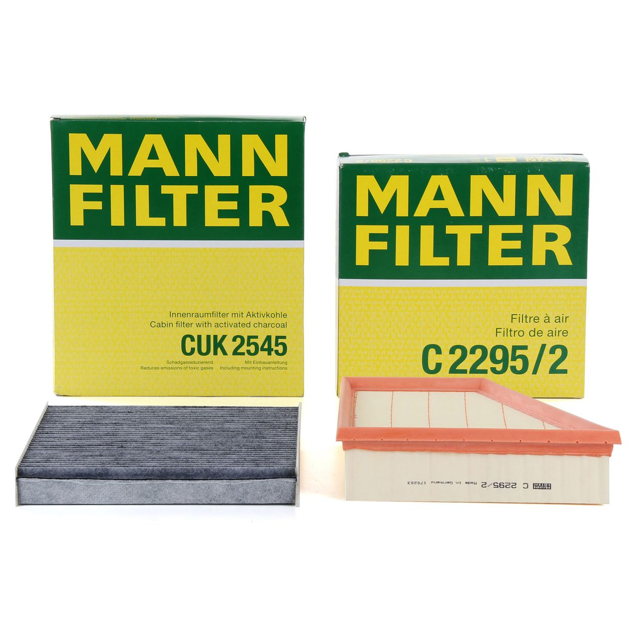 MANN Filterset für SEAT IBIZA IV V SKODA FABIA I II ROOMSTER VW FOX POLO 1.2