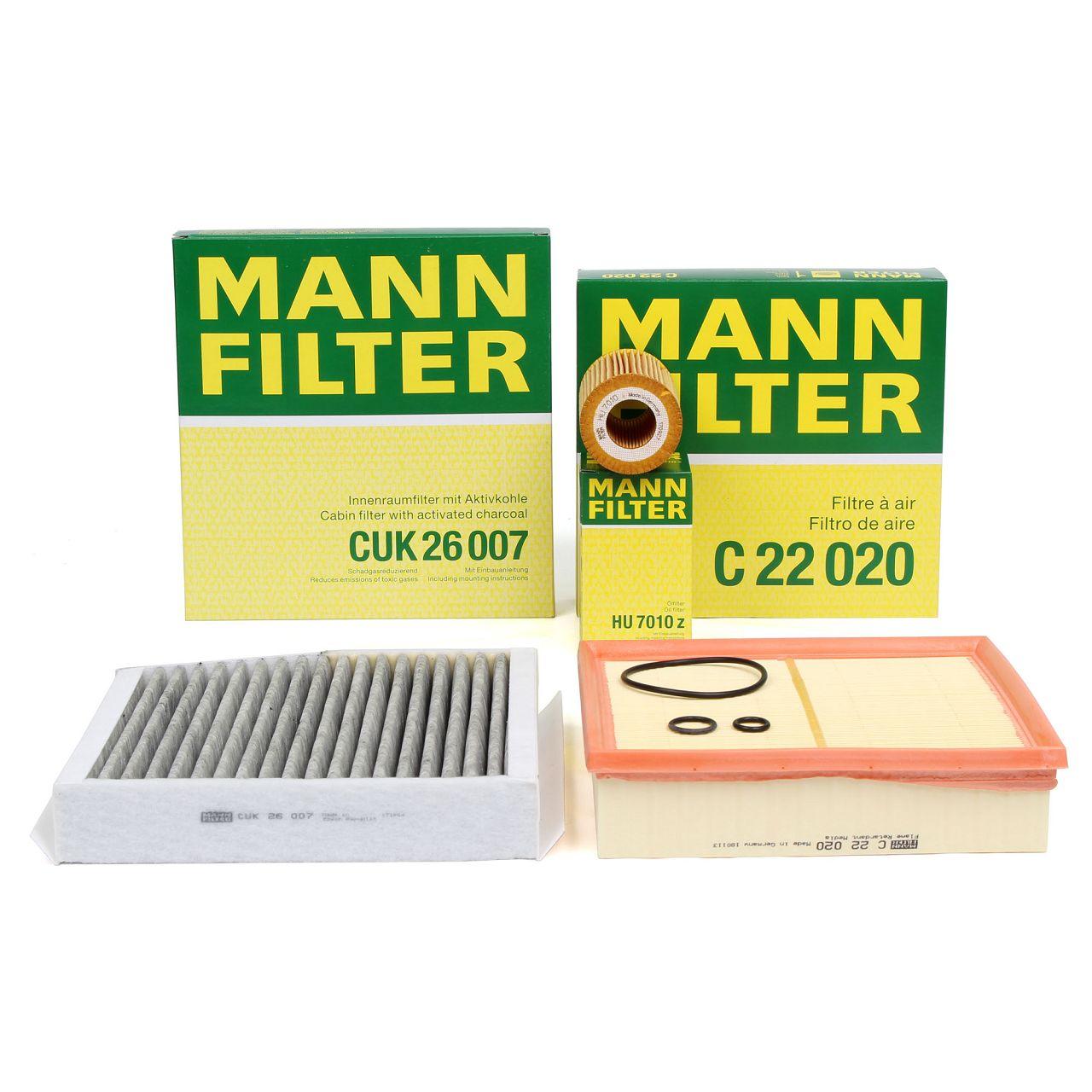 MANN Inspektionskit für MERCEDES W176 W246 W242 C/X117 X156 180-220CDI 220d