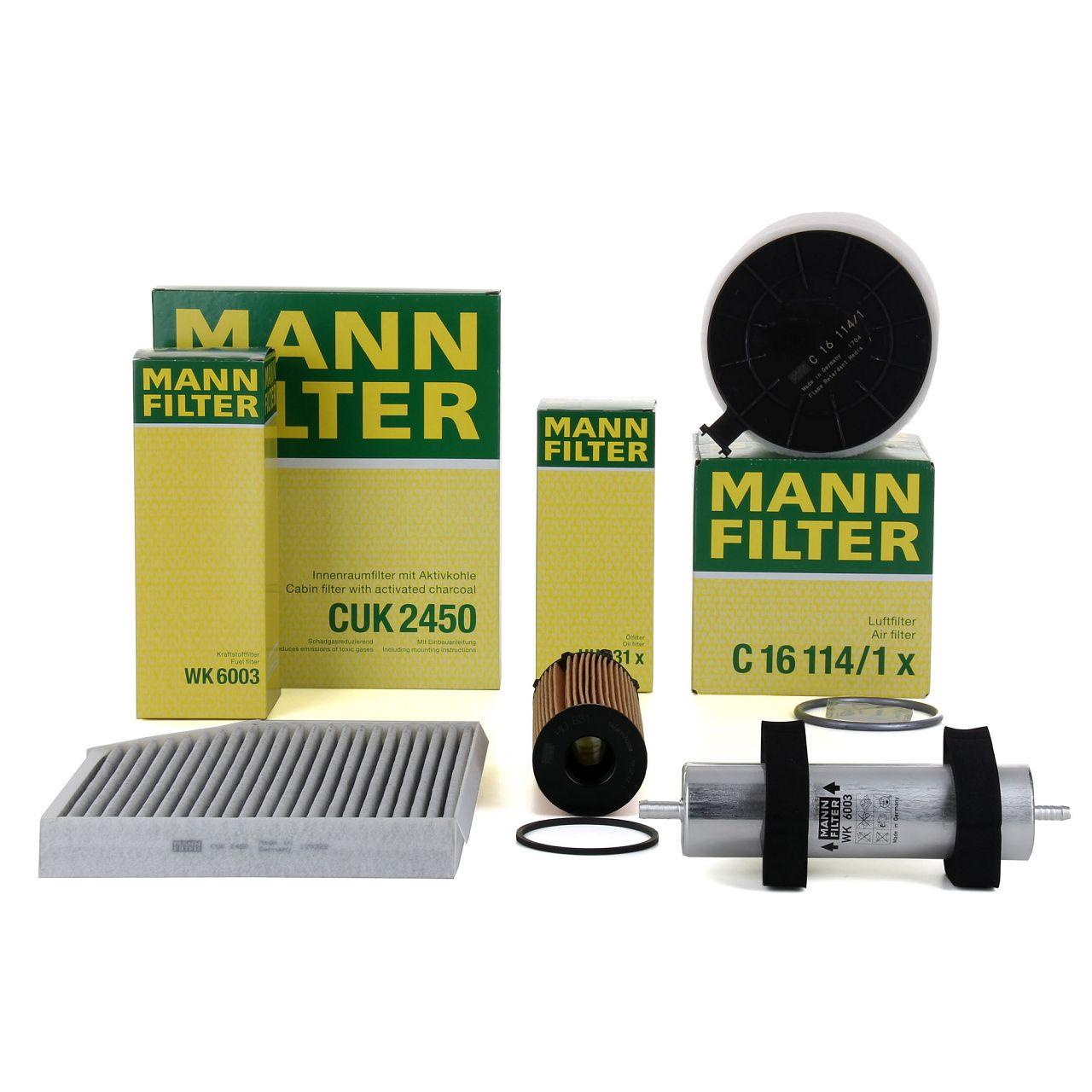 MANN Filterset für AUDI A4 (8K B8) A5 (8T 8F) 2.7 TDI 3.0 TDI 163/190/240 PS
