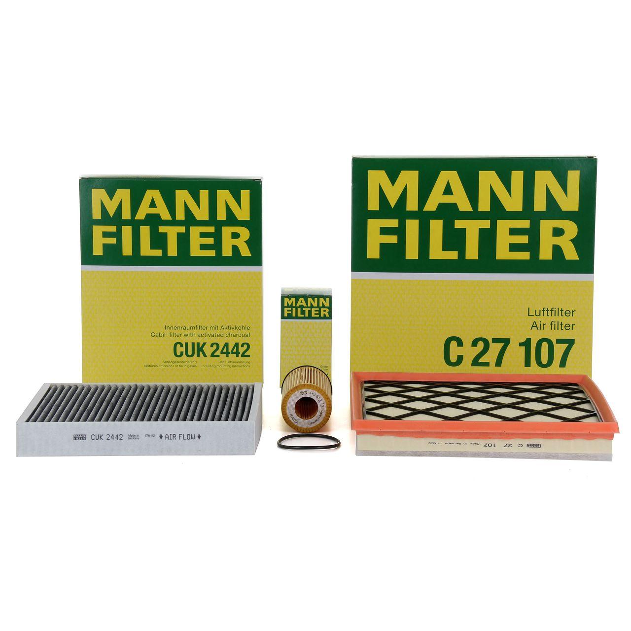 MANN Filterpaket Filterset für OPEL ASTRA J CASCADA ZAFIRA C 1.4 1.6 120-180 PS
