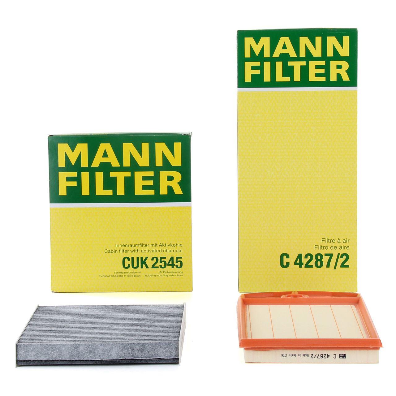MANN Filterpaket Filterset für SEAT CORDOBA IBIZA IV VW POLO (9N_) 1.6 101 PS