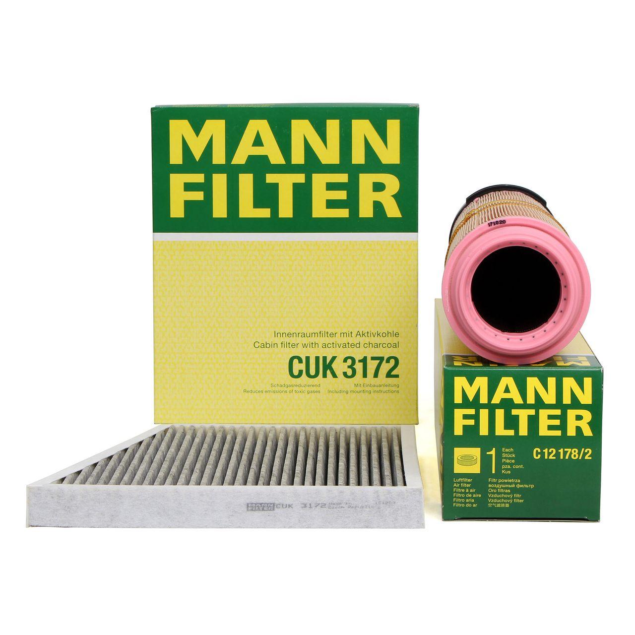 MANN Inspektionskit für MERCEDES E-KLASSE W211 S211 E200CDI E220CDI 136/170 PS