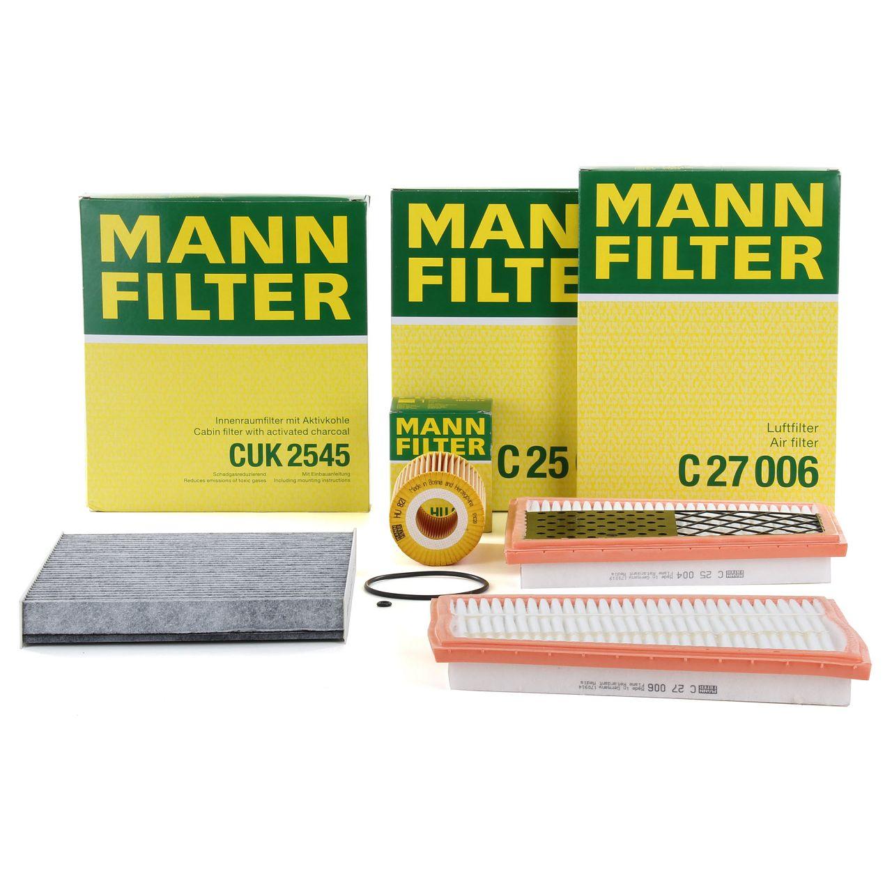 MANN Filterset Filterpaket für MERCEDES G-KLASSE W463 G320CDI 224 PS