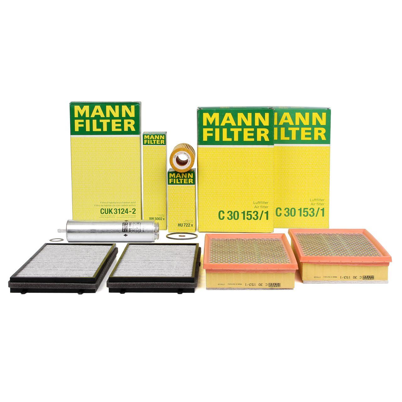 MANN Inspektionskit Filterpaket Filterset für BMW 7er E65 E66 E67 745d 300/329PS