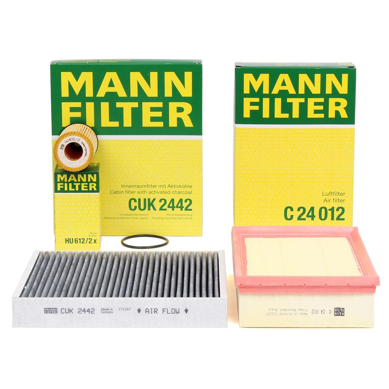 MANN Inspektionskit für CHEVROLET TRAX 1.4 1.6 1.8 OPEL MOKKA / MOKKA X 1.4 1.6