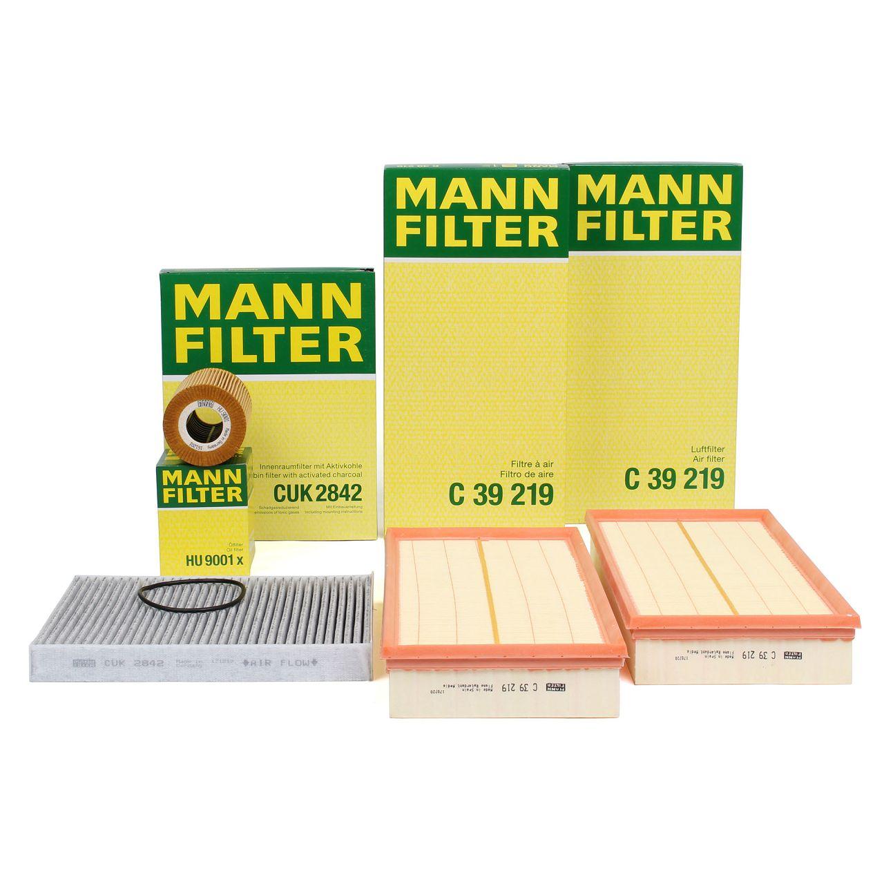 MANN Inspektionskit für PORSCHE CAYENNE (9PA) S 4.8 / GTS 4.8 / Turbo S 4.8