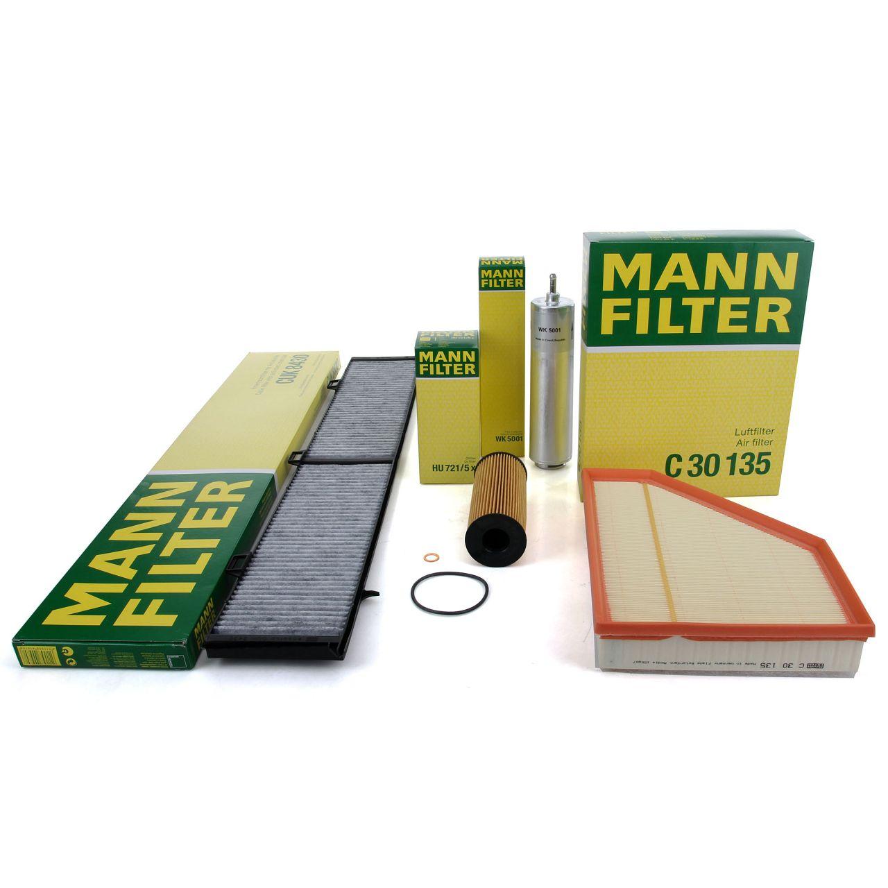 MANN Inspektionskit Filterpaket Filterset für BMW 3er E90 E92 E91 316/318/320d