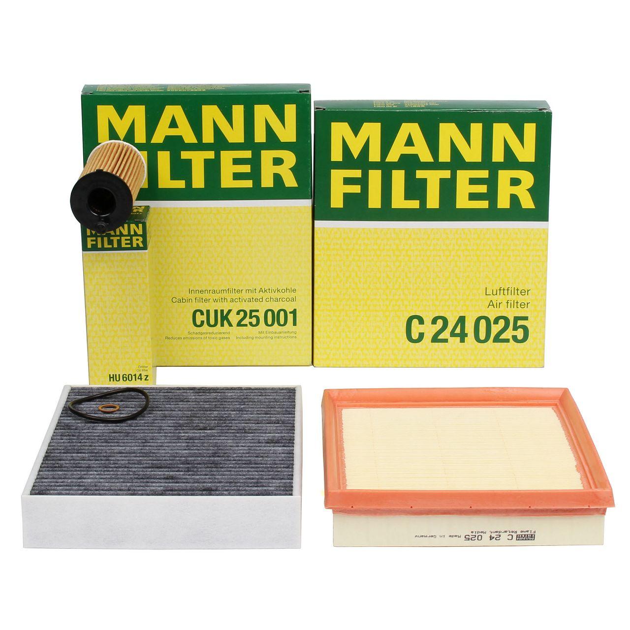 MANN Inspektionskit für BMW F20 F21 118i F22 F23 218i F30 F31 318i F32 F36 418i